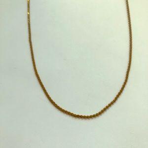 Vintage Napier Serpentine Gold Tone Chain Necklace